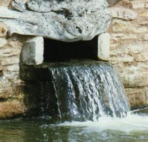 Wassereinfluss